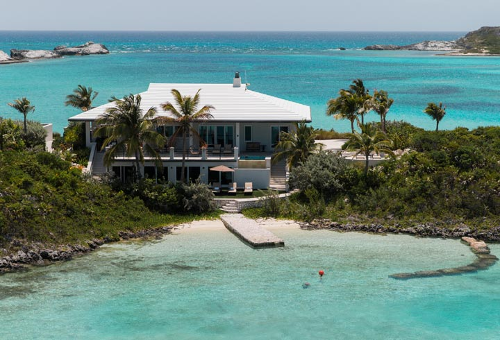 Over Yonder Cay, Bahamas