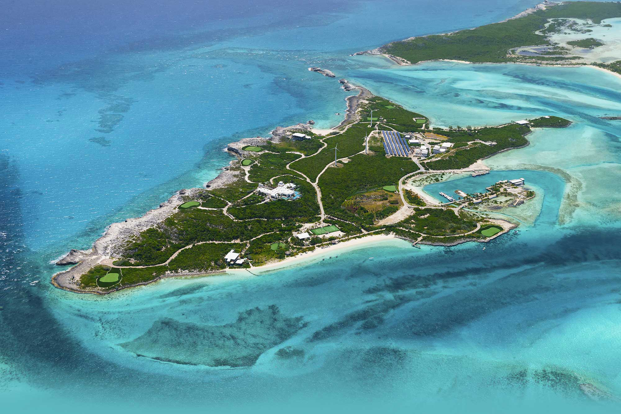 The Island Over Yonder Cay